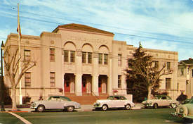 Alamedainfo.com &nbsp&nbsp The Alameda Veterans Memorial Building shown here circa 1950, is one of  10 buildings in Alameda County designed by Alameda resident and architect, Henry H. Meyers. Meyers served as the official county architect from 1912 to 1935.