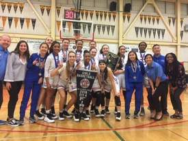 Chris Pondok &nbsp&nbsp The St. Joseph Notre Dame women's basketball team beat Arcata High, 90-47, to capture the North Coast Section Div. IV title on March 3.